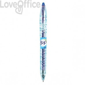 Penna gel BEGREEN B2P - blu - 0,7 mm - 040181