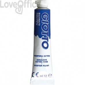Tubetti tempera Giotto - 12 ml - blu cobalto - 3520 16 (conf.6)