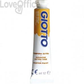 Tubetti tempera Giotto - 12 ml - ocra gialla - 3520 21 (conf.6)
