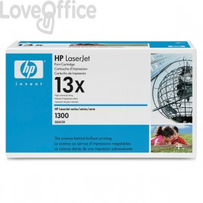 Originale HP Q2613X Toner alta resa 13X nero