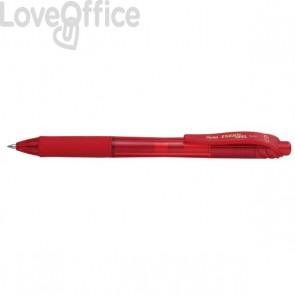 Roller Energel X Pentel - rosso - 0,7 mm - BL107-BX
