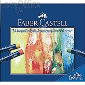 Oil Pastel Creative Studio Faber Castell - assortiti - 127024 (conf.24)