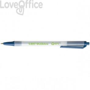 Penna a sfera a scatto Bic® ECOlutions™ Clic - blu - 1 mm - 8806891
