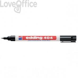 Edding - Pennarello indelebile nero - punta extra-fine - 0,75 mm