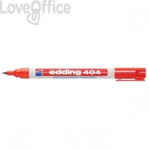Edding - Pennarello indelebile rosso - punta extra-fine - 0,75 mm