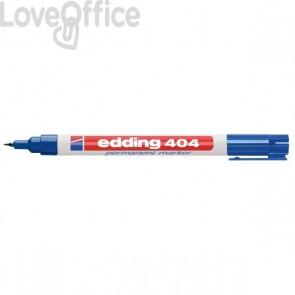 Edding - Pennarello indelebile blu - punta extra-fine - 0,75 mm