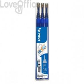 Frixion Point 0,5 Pilot - Refill - blu - 0,5 mm (conf.3)