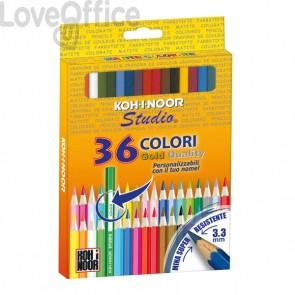 Pastelli STUDIO Koh-i-noor - 3,3 mm - da 3 anni in poi (conf.36)