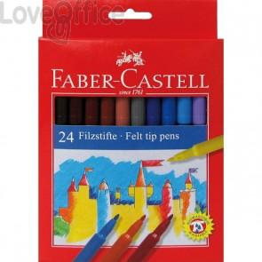 Pennarelli FIESTA STANDARD Faber Castell - 0,7 mm - 6+ (conf.24)