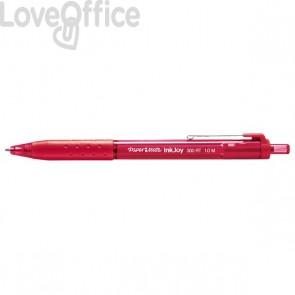 Papermate InkJoy 300 - penne a sfera a scatto - rosso - punta media (conf.12)