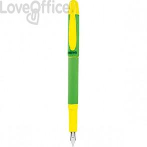 """Penna stilografica """"PRIMAPENNA"""" Pelikan - medio - azzurro - 0F6DF5"""