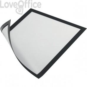 Cornice magnetica Durable - A4 - 25x0,45x32,5 cm - porta avvisi - nero - 4869-01 (conf.5)