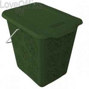 Cestino per rifiuti organici Rotho - verde - F707758
