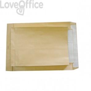 Buste a sacco avana con soffietti Pigna - 30+4x40 cm - 120 gr/mq. -0208888 (conf.250)