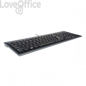 Slimtype Keyboard Kensington - tastiera Advance Fit ultrasottile - K72357IT