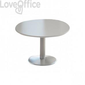 tavolo riunioni rotondo grigio