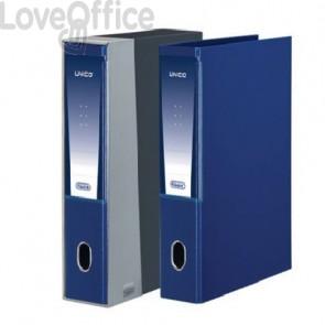registratore con custodia blu