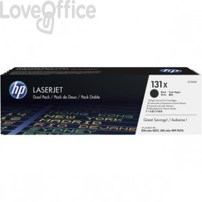 Originale HP value pack CF210XD toner nero