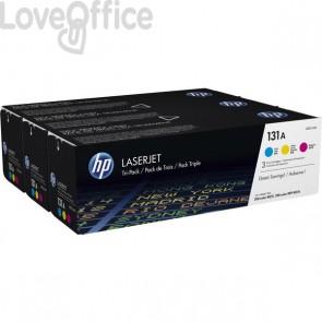 Originale HP multipack U0SL1AM toner C+M+Y