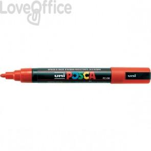 Pennarello Uniposca a tempera - Uniposca rosso Uni-Ball - tonda - 1,8-2,5 mm