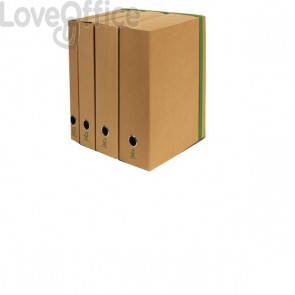 Portaprogetto con elastico piatto Euro-cart - dorso 8 cm