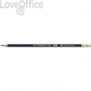 Lapis Grafite Faber Castell - Gold Faber 1221 - HB - Con gommino