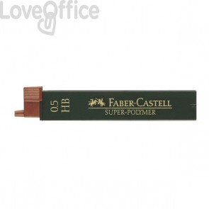 Mine SUPERPOLYMER Faber Castell - 0,5 mm - HB - 120500 (conf.12)