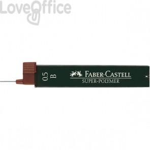 Mine SUPERPOLYMER Faber Castell - 0,5 mm - B - 120501 (conf.12)