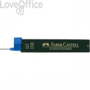 Mine SUPERPOLYMER Faber Castell - 0,7 mm - HB - 120700 (conf.12)