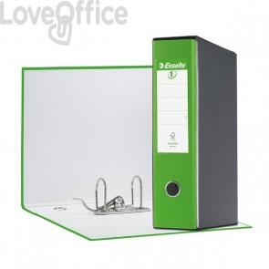 Registratori Esselte Eurofile - protocollo - dorso 8 cm - 23x33 cm - verde VIVIDA - 390755940