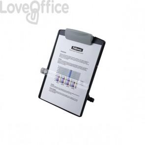 Leggio desktop standard Fellowes - grigio grafite - 9169701