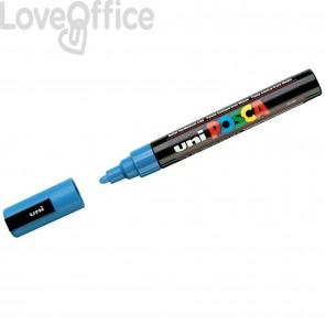 Pennarello Uniposca a tempera - Uniposca azzurro Uni-Ball - tonda - 1,8-2,5 mm
