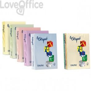 Risma carta colorata Le Cirque Favini - A4 - 80 g/mq - lilla (risma500)