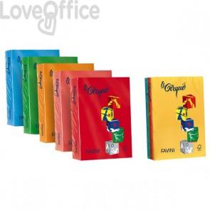 Risma carta colorata Le Cirque Favini - A4 - 80 g/mq - verde prato (risma500)