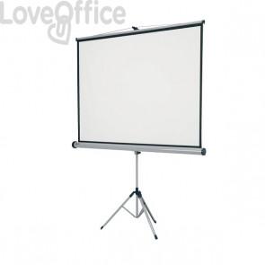 Schermo per proiettore a treppiede 4:3 Nobo - 150x114 cm - 188 cm - 1902395
