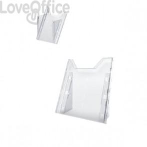 Porta-avvisi Combiboxx da tavolo e da parete Durable - 1 vaschetta f.to A4 - 8578-19