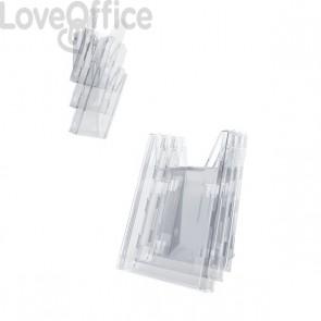 Portadepliant Combiboxx da tavolo e da parete Durable - 3 vaschette f.to A4 - 8580-19