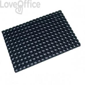 Tappetino Octo Floortex - nero - 80x120 cm - FC481222OCBK