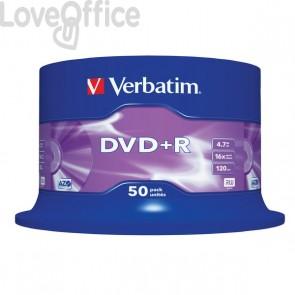 DVD Verbatim - DVD+R - 4,7 Gb - 16x - Spindle - 43550 (conf.50)