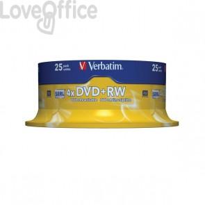 DVD Verbatim - DVD+RW - 4,7 Gb - 4x - Spindle - 43489 (conf.25)
