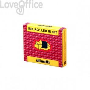 conf.2 Originale per Olivetti stampanti ad aghi - Ink roll IR40T - nero/rosso - 81129 - IR40T (conf.2)