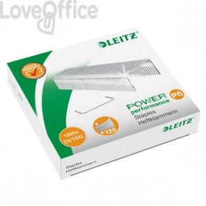 Punti cucitrice Leitz 5553 per alti spessori - Punti metallici 23/15xL - 55790000 (conf.1000)