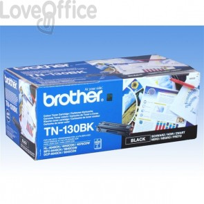 Toner Brother Originale TN-130BK SERIE 130 nero