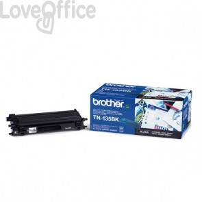 Toner Brother Originale TN-135BK alta resa SERIE 135 nero