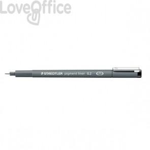 Fineliner a punta graduata pigment liner Staedtler - 0,4 mm