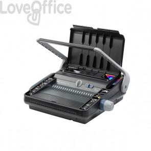 Rilegatrice multifunzione manuale M230 GBC - 125-450 fogli - 4400423