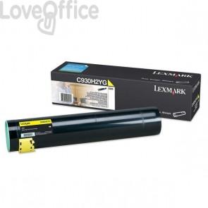 Originale Lexmark C930H2YG Toner alta resa giallo