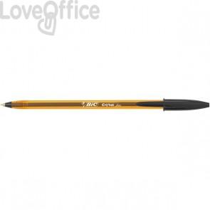 Penne a sfera Cristal® Fine Bic - nero - 0,8 mm - cappuccio (conf.50)