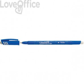 Penna a sfera cancellabile Tratto Cancellik - blu - 1 mm - 806101 (conf.12)