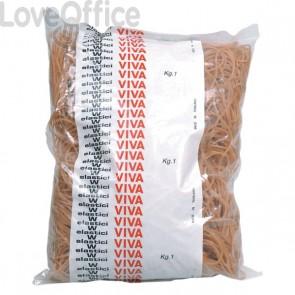 Elastici in gomma naturale Viva - 60 mm - EN060 (conf.1000)
